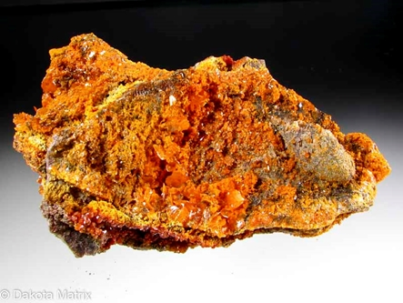 Wulfenite from Mammoth mine, Tiger, Pinal Co., Arizona, United States - AH51455